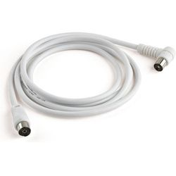 Kabel Coax - Coax MELICONI 2 m + Adapter M/M