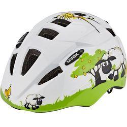 UVEX Kid 2 Kask rowerowy Dzieci, biały/zielony 46-52cm 2022 Kaski dla dzieci Przy złożeniu zamówienia do godziny 16 ( od Pon. do Pt., wszystkie metody płatności z wyjątkiem przelewu bankowego), wysyłka odbędzie się tego samego dnia.