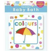 Książki do nauki języka, Squeaky Baby Bath Book Colours