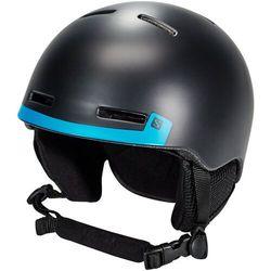 Salomon Grom Kask Dzieci, czarny/niebieski L | 56-59cm 2021 Kaski narciarskie