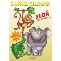 Kolorowanki, Ulubione malowanki Słoń i inne zwierzęta - Ernest Błędowski