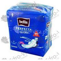 Pozostałe materiały opatrunkowe, Bella, podp.,Perfecta maxi,Blue(skrz), 9szt