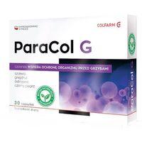 Preparaty ziołowe, ParaCol G ochrona przed grzybami czosnek 30 kapsułek Colfarm