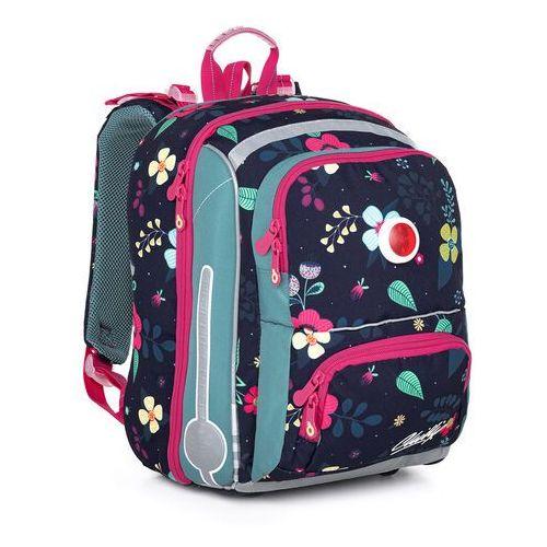 Tornistry i plecaki szkolne, Tornister szkolny z kwiatkami Topgal BEBE 21001 G
