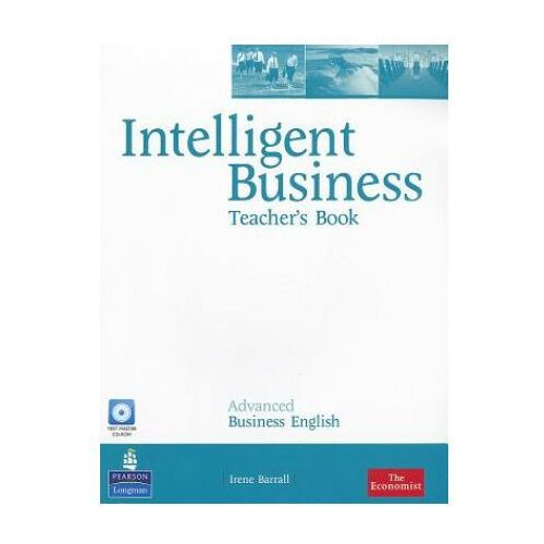 Książki do nauki języka, Intelligent Business Advanced. Książka Nauczyciela + CD (opr. miękka)