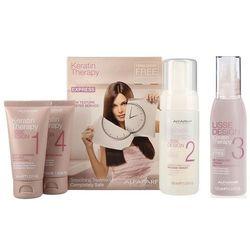 Alfaparf Keratin Therapy | Zestaw: zestaw do keratynowego prostowania + krem ułatwiający rozczesywanie włosów 125ml