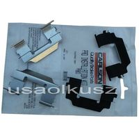 Odpowietrzniki zacisku hamulcowego, Zestaw montażowy tylnych klocków Buick Enclave 2008-