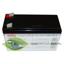 Żelowy akumulator wymienny Lestar LAWuB 12V 9Ah AGM VRLA