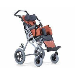 wózek inwalidzki specjalny dziecięcy aluminiowy spacerowy rozmiar 32cm (klin,pasy,zagłówek,śpiwór, budka) gemini I