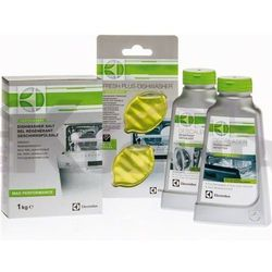 ELECTROLUX E6DK4106 Zestaw do zmywarek (odświeżacz, preparat odtłuszczający, odkamieniacz, sól)