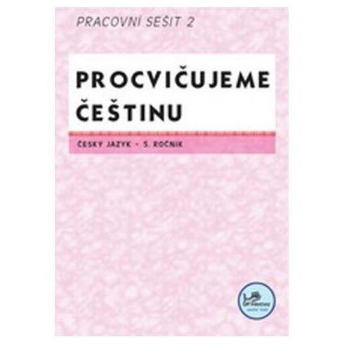 Pozostałe książki, Procvičujeme češtinu 5. ročník pracovní sešit 2 Josef Molnár