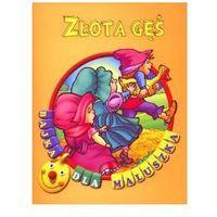 Książki dla dzieci, Złota gęś. Bajka dla maluszka (opr. broszurowa)