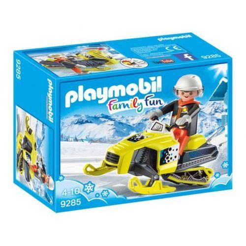 Klocki dla dzieci, Playmobil Skuter śnieżny 9285
