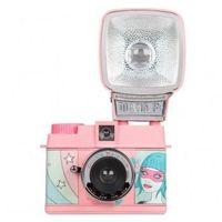 """Aparaty analogowe, Lomography Diana Mini """"Double Rainbow"""" aparat fotograficzny na film typ 135"""