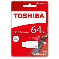 Flashdrive, Pendrive Toshiba U303 64GB White (THN-U303W0640E4) Darmowy odbiór w 20 miastach!