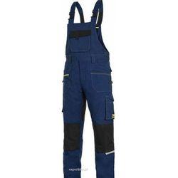 Spodnie ogrodniczki CXS STRETCH w kolorze granatowo-czarnym