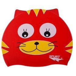 Czepek silikonowy SPURT Red Cat
