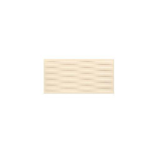 Glazura i terakota, płytka ścienna Basic Palette beige braid satin 29,7 x 60 OP631-028-1
