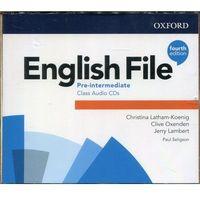 Książki do nauki języka, English File Pre-Intermediate Class Audio CDs. Darmowy odbiór w niemal 100 księgarniach!
