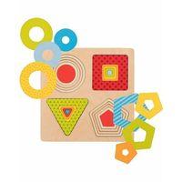 Puzzle, Goki puzzle warstwowe geometryczne