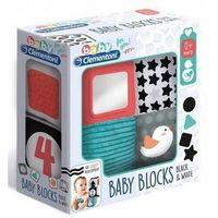 Pozostałe zabawki dla najmłodszych, Clementoni czarno-białe kostki