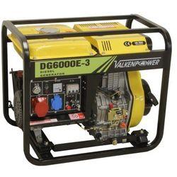 Generator prądowy 230 /400 V, 6 KVA, diesel