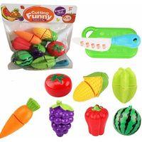 Pozostałe zabawki, Owoce i warzywa plastikowe do krojenia