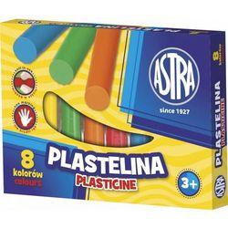Astra, Plastelina, 8 kolorów
