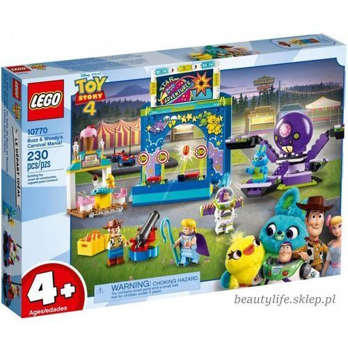 Pozostałe zabawki, Lego JUNIORS 10770 Karnawałowe szaleństwo Chudego