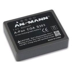 Akumulator ANSMANN do Panasonic A-Pan CGA S303 (600 mAh)