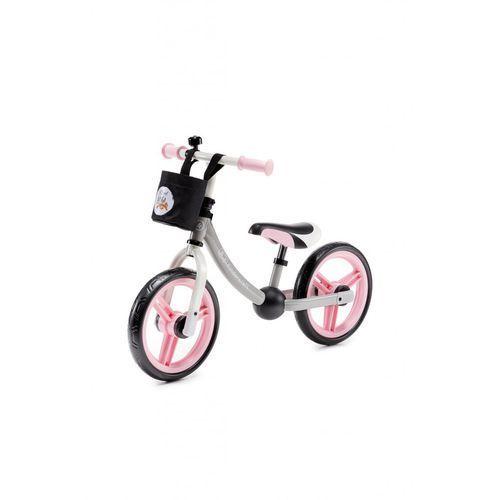 Rowerki biegowe, Rowerek biegowy 2WAY next różowy 5Y36L4