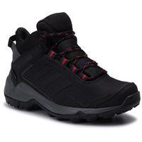Damskie obuwie sportowe, Buty adidas - Terrex Eastrail Mid Gtx W GORE-TEX F36761 Carbon/Cblack/Actpnk