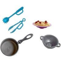 Pozostałe zabawki, MATTEL BARBIE Akcesoria kuchenne do gotowania spagetti