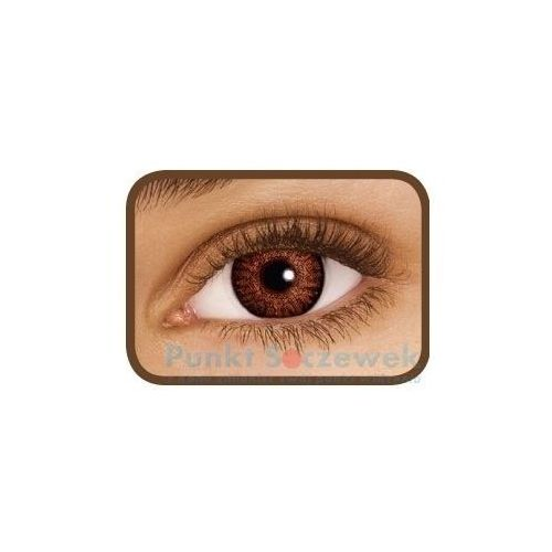 Soczewki kontaktowe, FreshLook ColorBlends Brown, 2 szt.