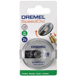 Ściernica Dremel SC541 SpeedClic, 38 mm, 2 szt.