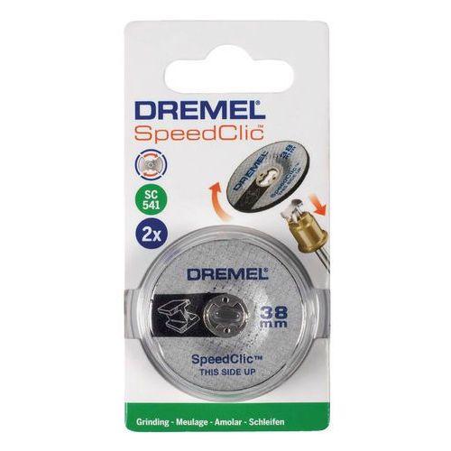 Tarcze do cięcia, Ściernica Dremel SC541 SpeedClic, 38 mm, 2 szt.