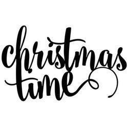 Dekoracja na stół Christmas Time - 17 x 10 cm - 1 szt.