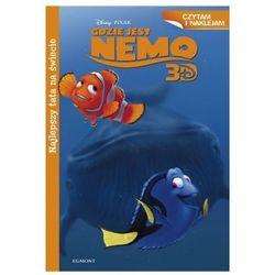 Egmont Czytam i naklejam. Gdzie jest Nemo? Najlepszy tata na świecie
