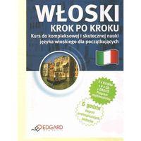 Książki do nauki języka, Włoski Krok Po Kroku (2 Książki + 6 Cd) (opr. kartonowa)