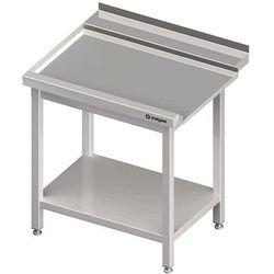 Stół wyładowczy lewy z półką do zmywarki kapturowej Silanos 1200x740x880 mm | STALGAST, 982457120