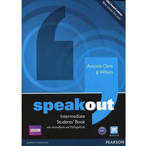 Książki do nauki języka, Speakout Intermediate, Student's Book (podręcznik) plus Active Book plus MyEnglishLab (opr. miękka)