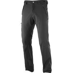 Salomon Wayfarer Straight Spodnie długie Mężczyźni czarny EU 52 (wersja standardowa) 2019 Spodnie turystyczne