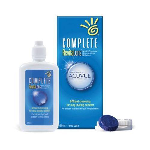 Płyny pielęgnacyjne do soczewek, AMO Complete RevitaLens 120 ml