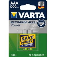 Akumulatorki, 2 x Varta Ready2use R03/AAA 1000mAh