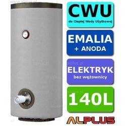 Elektryczny bojler 140L 2kW EMALIOWANY, Ogrzewacz wody elektryczny pionowy stojący, 140 litrów, 128cm x 46cm, Wysyłka gratis