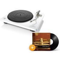 Gramofony, DENON DP-400 BIAŁY - automatyczny gramofon analogowy | Zapłać po 30 dniach | Raty 0% | Gwarancja 3-lata