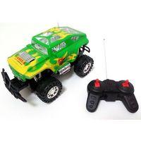 Pozostałe samochody i pojazdy dla dzieci, JEEP STEROWANY na radio S- Track Speed Zielono- Żółty