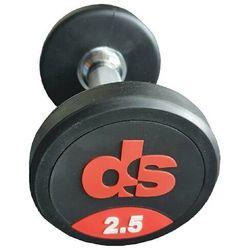 Hantel ogumowany DS 30 kg