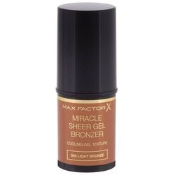 Max Factor Miracle Sheer bronzer 8 g dla kobiet 005 Light Bronze