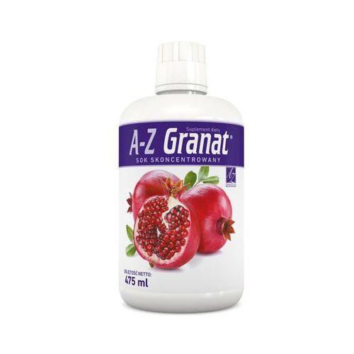 Pozostałe leki na układ krążenia, A-Z Granat sok 5-krotny koncentrat 475ml